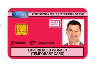 red-card-experienced-worker-cscs-card