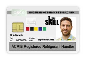 white-card-cscs-acrib-refrigerant-handler-skill-card
