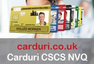 Carduri CSCS NVQ UK